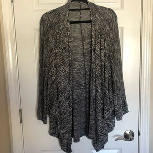 Dark grey batwing cardigan